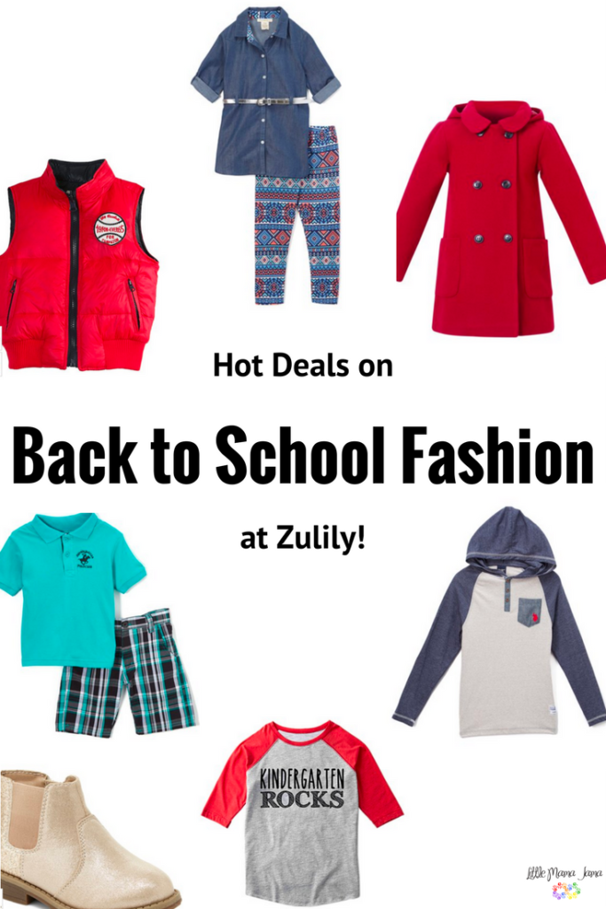 [ad] Hot deals on back to school at Zulily! Find back to school fashion, lunchbox accessories, kids shoes, jackets and more.