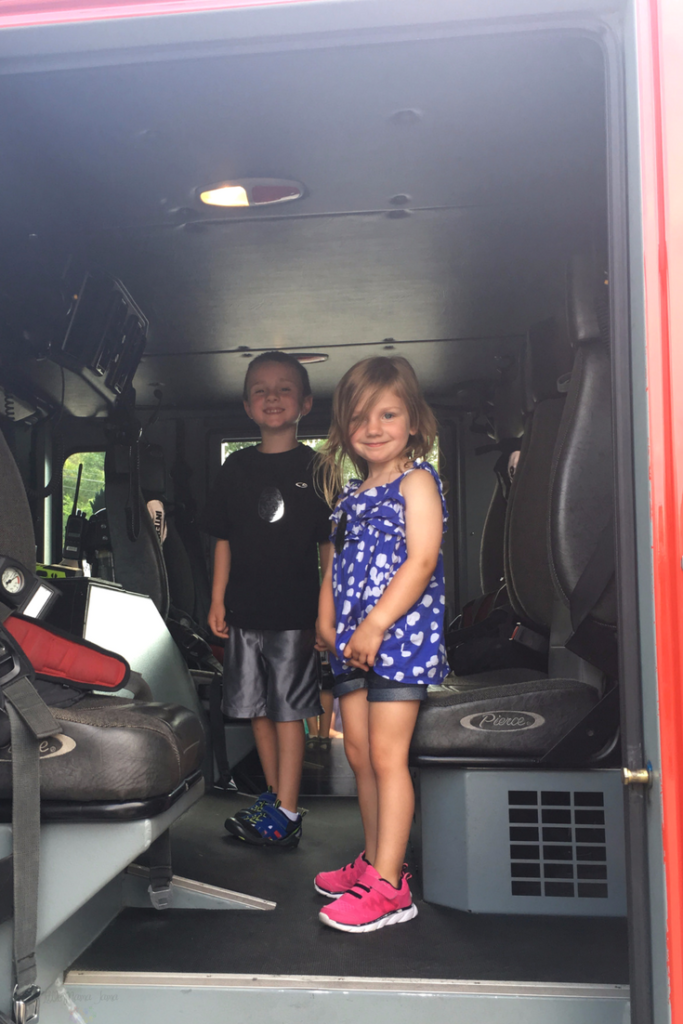 Visit the local fire station! Find 20 family activities to rock your summer. #SummerIsForSavings [ad]