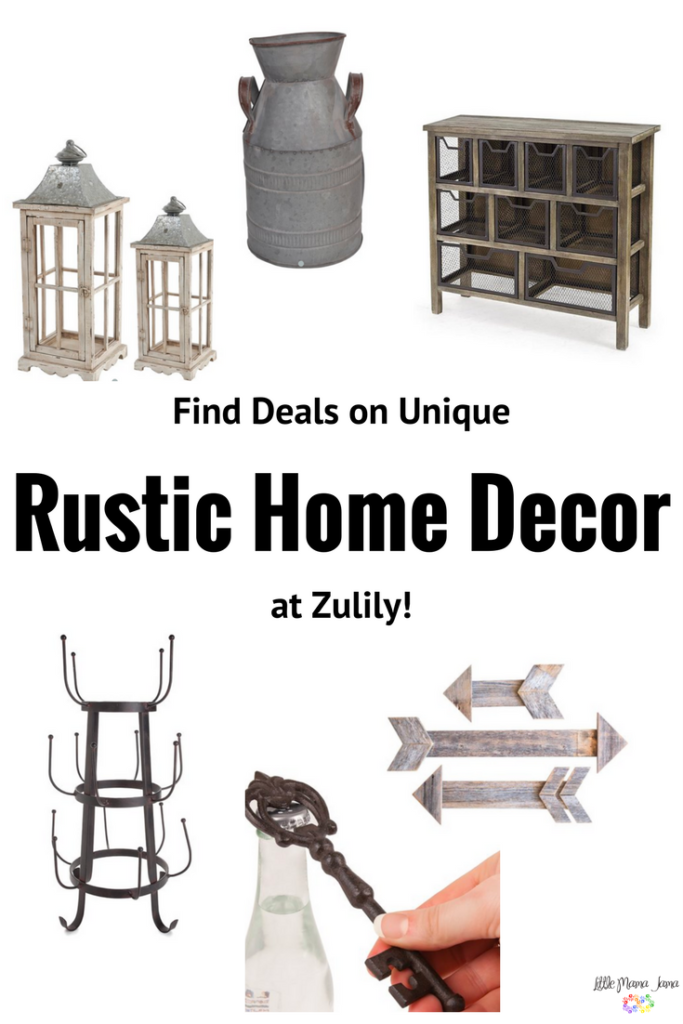Find great deals on unique rustic home decor at Zulily! #zulily #zulilyfinds #zulilystyle #onzulilytoday #sponsored