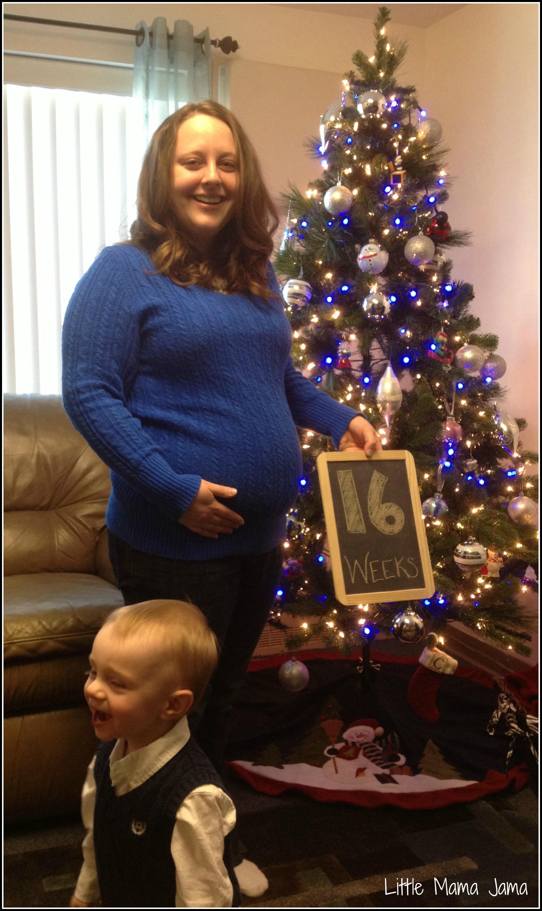 Baby Deuce: 16 Week Bump Update