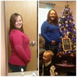 C and Baby Deuce: Baby Bump Comparisons!
