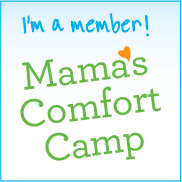 Guest Post on Mama's Comfort Camp