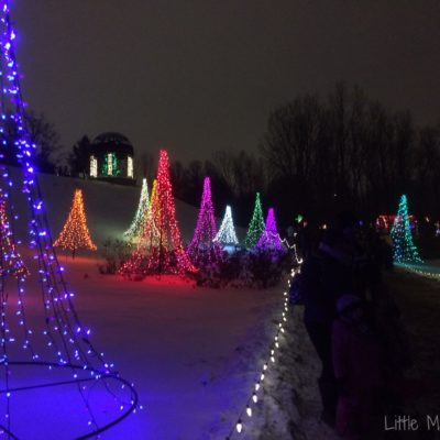 Holiday Light Walk with the Family!