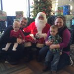 The Novotnys Meet Santa!