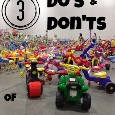 3 Do's & Don'ts of Consignment Events