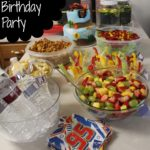 A Disney Cars Birthday Party!
