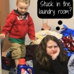 No sorting makes laundry so easy, my toddler can do it. #LaundrySimplified #shop