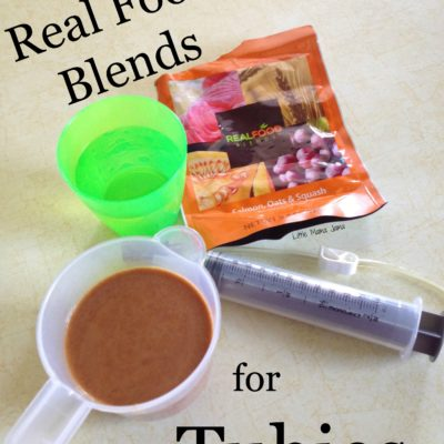 Real Food Blends for my Tubie!