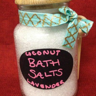 DIY Bath Salts Guest Post at Teachable Mommy
