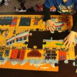 """""""I'm going to do the train puzzle."""""""