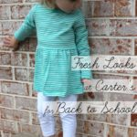 Fresh Looks at Carter's for Back to School {and a coupon!}