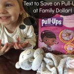 Text to Save on Pull-Ups (& Our Potty Training Disaster Story!)