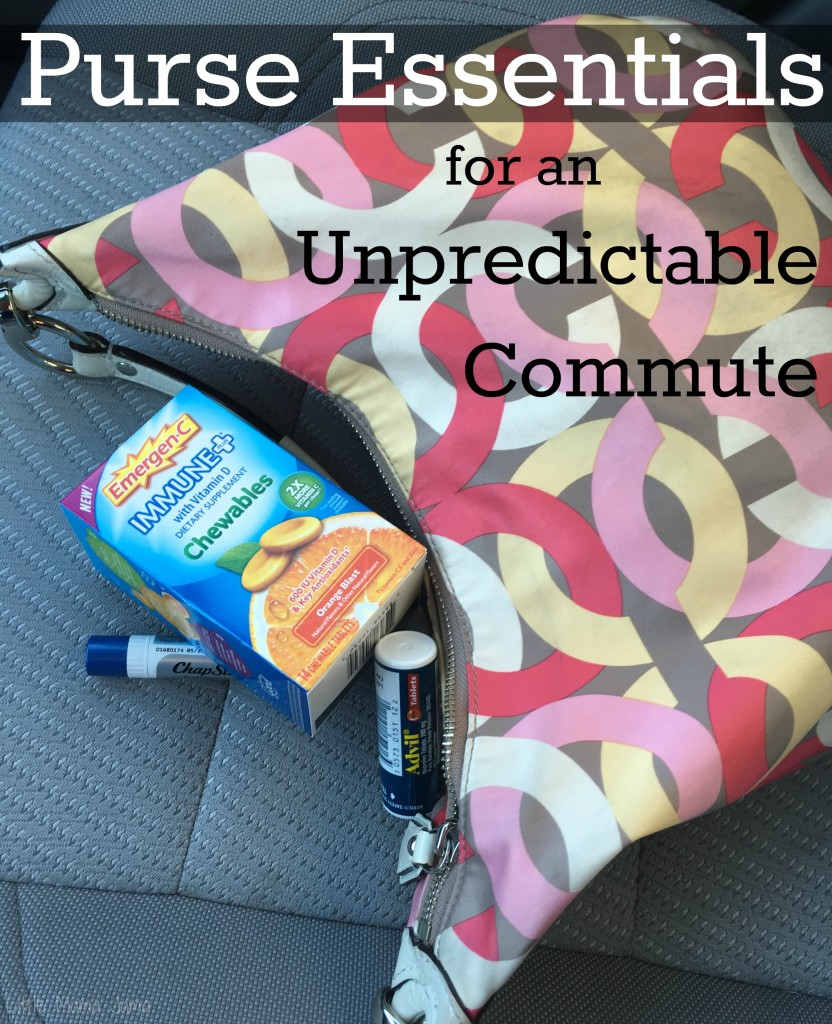 Purse Essentials for an Unpredictable Commute