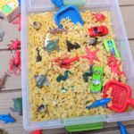 DIY Sensory Bin for Feeding Creativity
