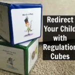 Need to redirect your child? Regulation Cubes can help!
