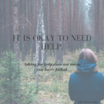 I gave myself 3 months to improve my mental health.