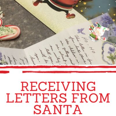 Receiving Letters From Santa