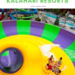 Experience a new waterslide at Kalahari Resorts!