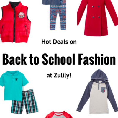 Hot Deals on Back to School Fashion at Zulily