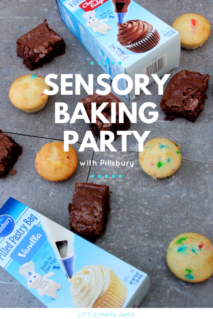 Create a kid-friendly sensory baking party with Pillsbury! #DoughboySurprise [ad]
