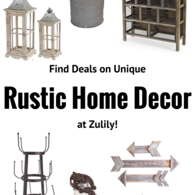 Find Unique Rustic Decor at Zulily