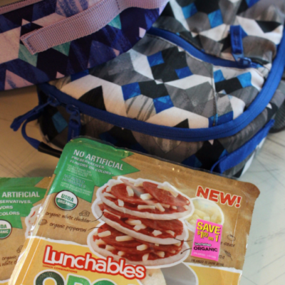 The one thing my kids and I don't fight about: LUNCHABLES Organic!