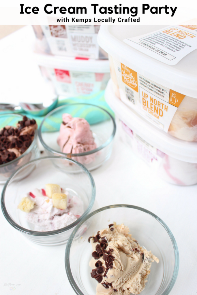 Throw Your Family an Ice Cream Tasting Party with Kemps Locally Crafted
