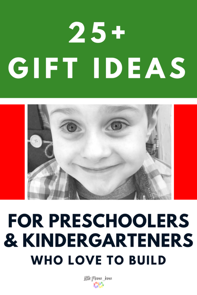 25+ Building Toys and Gadgets Gift Ideas for Preschoolers and Kindergarteners. Inspire the love of architecture with these toys for kids who love to build!