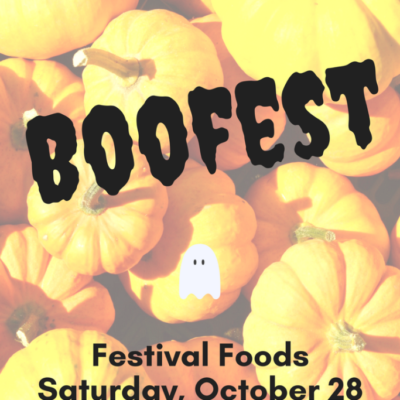 Stop by Festival Foods for Boofest!
