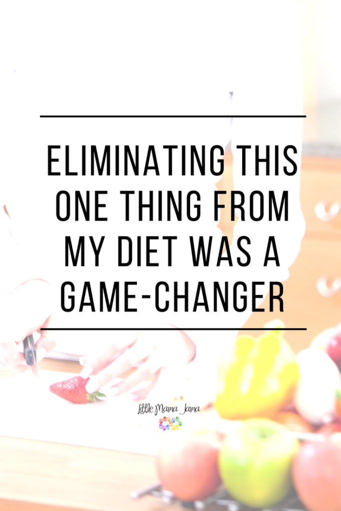 Eliminating this one thing from my diet was a game-changer. I haven't felt this good in years.