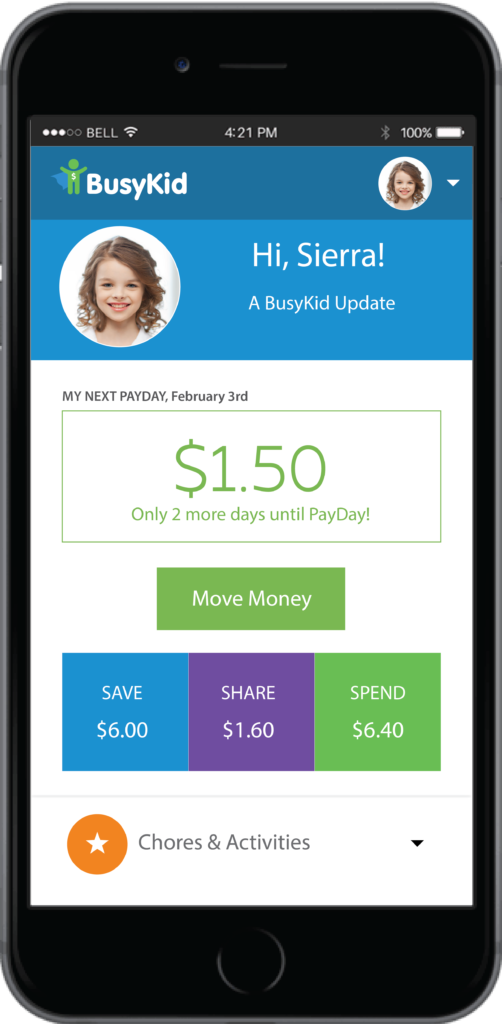 BusyKid helps autistic kids prepare for adulthood by teaching financial literacy in a hands-on method! AD