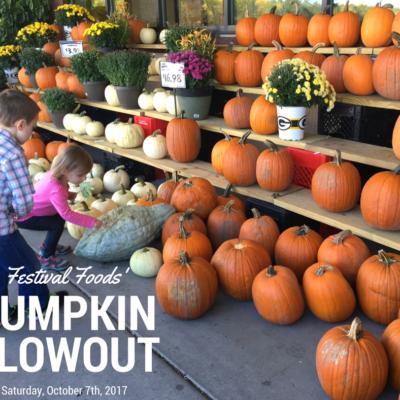 Family Fun at Pumpkin Blowout