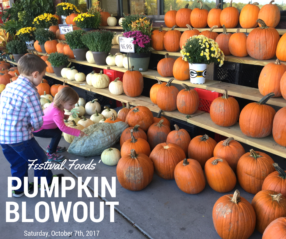 Family Fun at Festival Foods' annual Pumpkin Blowout! Join the fall festival excitement at your local Festival Foods location in Wisconsin. [ad]