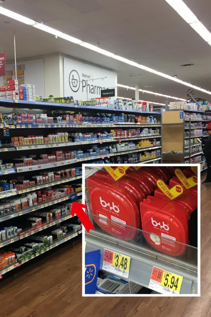 Find b+b at Walmart #bebetterbygiving #ad