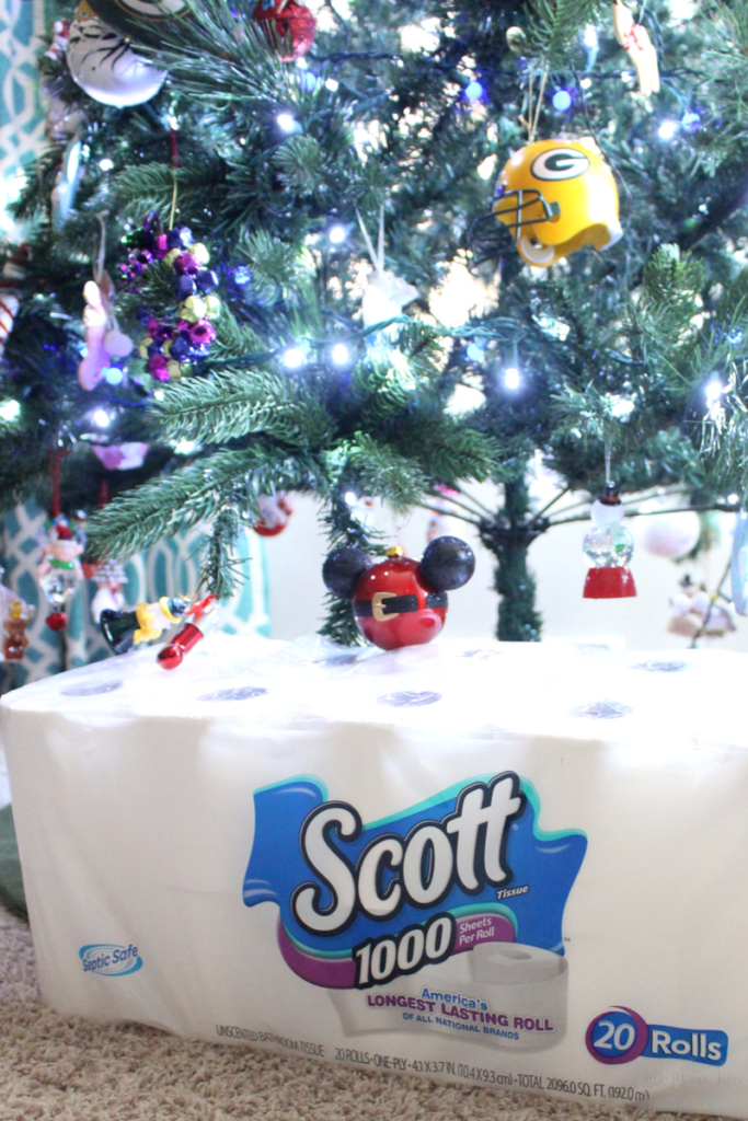 Let the kids help with the ornaments! And 4 other ways to involve small children in holiday prep. #GetGuestReady #ad