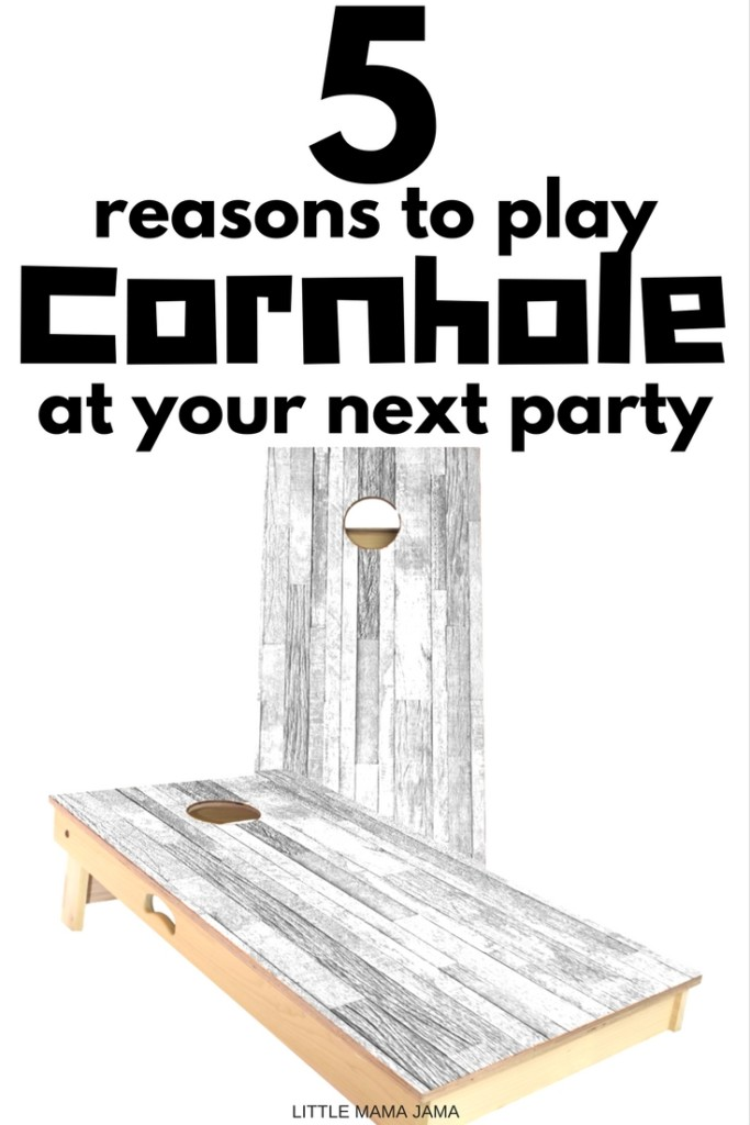 Cornhole is an awesome party game that combines a little competition with outdoor fun. Here are 5 reasons to play cornhole at your next party! [ad]