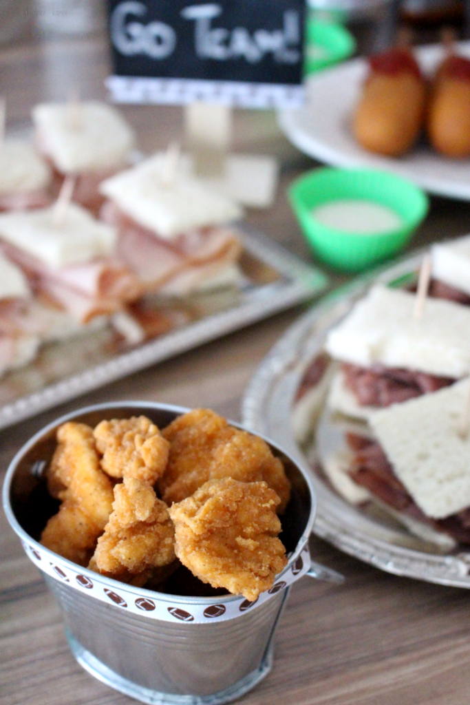 Get game day ready with Tyson from Walmart! Tyson Anytizers popcorn chicken is delicious game day finger food. #TysonWinningLineup #ad