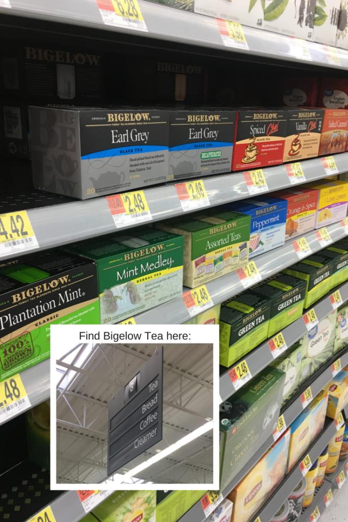 Find Bigelow Tea at Walmart! #BigelowTea #TeaProudly #ad