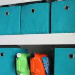 Upgrade Wire Shelving with this $100 Laundry Room Makeover!